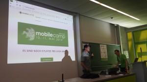 mcdd14 - Sascha Pallenberg mit Google Glass